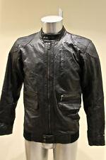 jolie veste en cuir noir très souple TOMMY HILFIGER taille 16 ans ou S