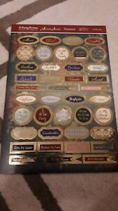 Hunkydory - Family Christmas Sentiments - 1 Die Cut Sheet - Just For You