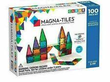 100 transparent 3D educational building toys Magna-Tiles Metropolis