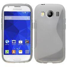 Pour Samsung Galaxy Ace 4 LTE   Coque en Gel Silicone S-line S-Ligne transparent