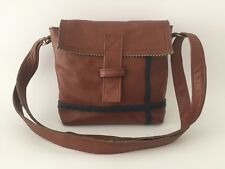 Leather Shoulderbag VanStoel#243 BROWN