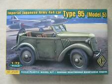 ACE MODELS 1/72 WW2 Imperial Japanese Army 4x4 Car Type 95 KUROGANI Model Kit