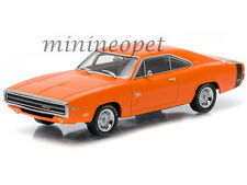 GREENLIGHT 86302 RUN WITH THE DODGE SCAT PACK 1970 DODGE CHARGER R/T 1/43 ORANGE
