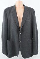 TOMMY HILFIGER Men's Casual Tailored Blazer Jacket, Textured Grey, size 40