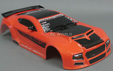 1/10 RC Car THUNDER DRIFT Body SHELL Painted + Finished Red Cat 200mm Orange