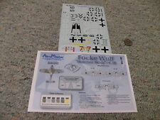 Aeromaster  decals 1/48 48-758 Focke Wulf Butcher Birds Part III   F146