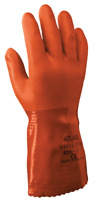 SHOWA 620 - S-XXL PVC Chemical Resistant Liquid Proof Gloves 1 DZ FREE SHIPPING