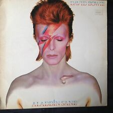 DAVID BOWIE - Aladdin Sane - UK RCA Records 10-track vinyl LP with lyric insert