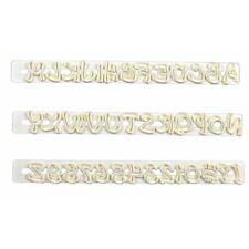 Cortadores de galletas de números de plástico