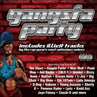 Various Artists - Gangsta Party / Various [New CD] Explicit, Boxed Set
