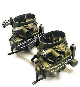 Mercedes Benz Dual Solex Carburetor Rebuilding Service