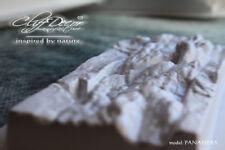 •  24 pcs *PANAMERA* concrete veneer wall stone stackstone tile plastic mold