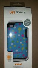 Ipod Touch 4th Generation Speck Case Fitted A0644. Blue dots  NEW