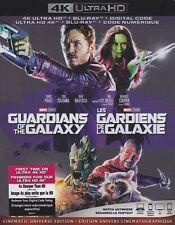 GUARDIANS OF THE GALAXY 4K ULTRA HD & BLURAY & DIGITAL SET with Chris Pratt