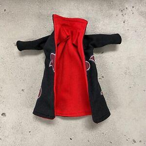 PP-R-AKA: 1/12 scale Akatsuki fabric robe for Bandai SHF Itachi Action Figure