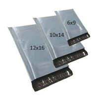 MIXED SIZES X 30 Grey Postal Bags Mailing Mail Parcel Post Plastic Strong Poly