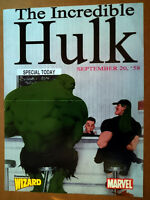 US Marvel Poster Classic Hulk The Incredible Hulk Grendel STAN LEE NM NEU