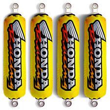 Yellow Shock Covers Honda Racing ATV TRX 700 TRX700 XX (For 4 shocks models)