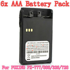 10pcs NEW Radio Battery Case Shell 6 x AAA Battery Pack for PUXING PX-888K