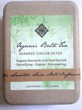 Organic Seaweed Detox Bath Tea Spa Treatment with Dead Sea Salts 3 Treatments