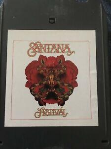 Santana 8 track cassette tape