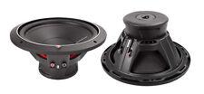"2) ROCKFORD FOSGATE P1S4-12 12"" 1000 Watt 4-Ohm Car Audio Subwoofers Subs P1S412"