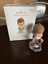 Hallmark Mary's Angels Series Ornament Sterling Rose Keepsake Collectible