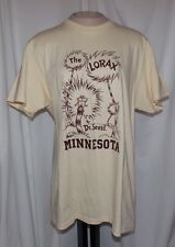 New NCAA MINNESOTA GOLDEN GOLPHERS Unisex Large DR SEUSS GOES TO COLLEGE T-Shirt