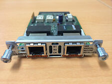 2x Cisco VIC2-2BRI-NT/TE ISDN Voice Module CCNA CCNP CCIE Voice and Collab Lab