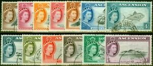 Ascension 1956 Set of 13 SG57-67 Very Fine Used