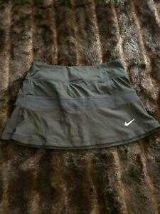Nike Dri-Fit Womens Small Black Lined Skort Skirt