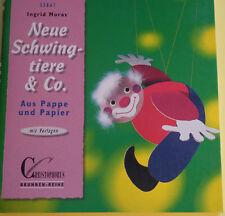 Bastelbuch Schwingtiere Schwingfiguren aus Pappe & Papier mit Vorlagen
