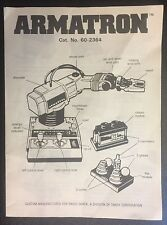 ARMATRON Radio Shack Vintage Instruction Manual
