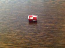 Brighton ZIG ZAG Red  White Bead Spacer New