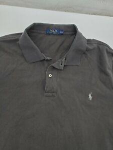 Polo Ralph Lauren Men's 2XLT Brown S/S Shirt (2xl big tall) 17-14