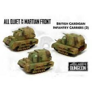 BF003 CARDIGAN INFANTRY CARRIERS ALL QUIET ON THE MARTIAN FRONT ALIEN DUNGEON