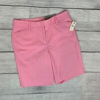 Talbots Perfect Short sz 6P Petite Bermuda Pink New NWT Retail $49.50