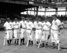 Joe DiMaggio & Lou Gehrig UNSIGNED photo - K9298 - 1937 Baseball All-Star game