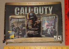 CALL of DUTY - Deluxe Edition Box Set - with BONUS CDs - Activision