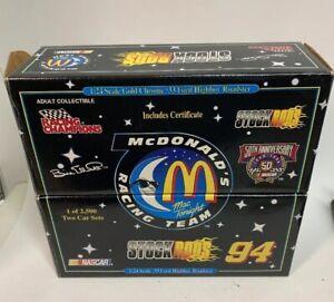 1998 McDonalds Racing Team NASCAR Bill Elliott STOCK RODS Two Car Sets E1a