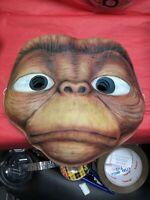 Vintage E.T. The movie halloween mask Life like vacuform vintage mask NOS