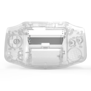 Game Boy Advance Shell Case Clear IPS Replacement GBA RetroSix ABS