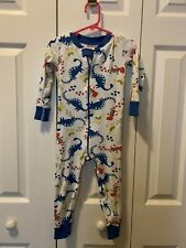 Boys Sleeper Lot Size 2t - Hanna Anderson And Carter's