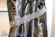 New Price!!!  2x Diamante Crystal Tie Backs -  Curtains & Voiles 75 cm