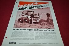 Bobcat Skid Loader 908-B Backhoe Attachment Dealers Brochure DCPA2