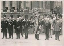 PARIS c. 1930 - Paul Doumer Gaston Doumergue 14 Juillet - PRM 617