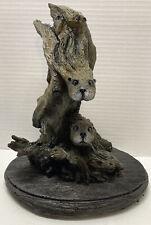 Bill Vernon Ltd. Ed. Otter Sculpture ~ Water Waltz ~ Series of Evolution 46/5000