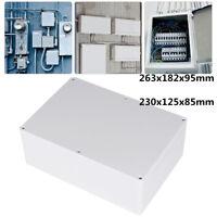 Imperméable Transparent Boîte Projet Électronique Enceinte Plastique Étui +A