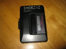 Vintage Sony Walkman WM-F2015 Black AM FM Radio Cassette Player Works