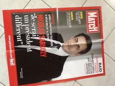 Rare Affiche Collector Grd Format Paris Match NICOLAS SARKOZY Avril 2012
